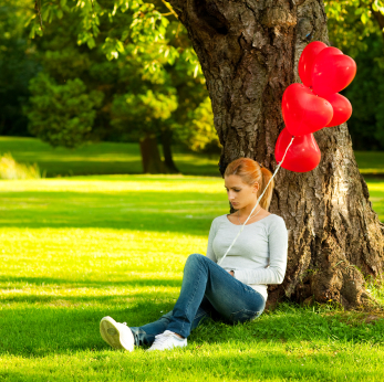 alone on Valentine's Day