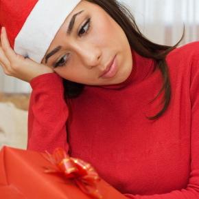 sad at Christmas