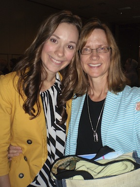 Paula and her mom