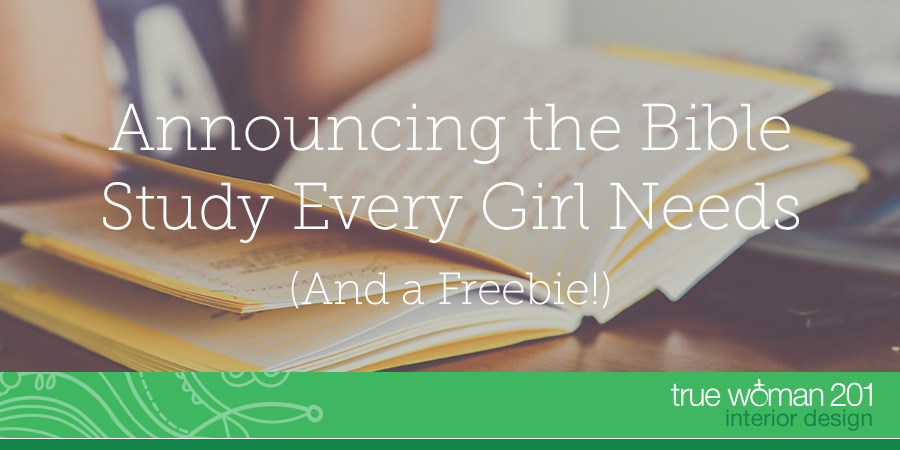 Announcing The Bible Study Every Girl Needs And A Freebie
