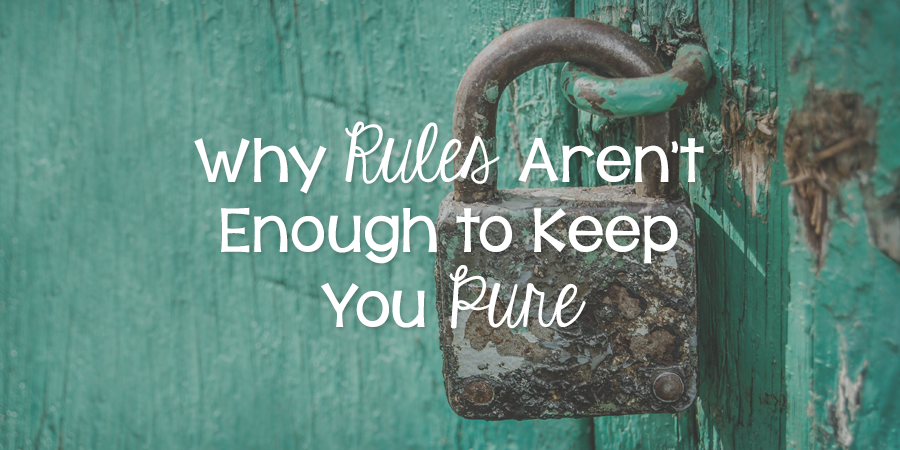 Keeping Belief Is Enough: Why Rules Aren't Enough To Keep You Pure